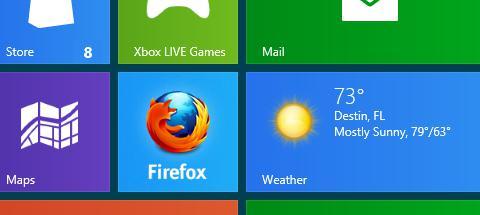 Mozilla Firefox Metro
