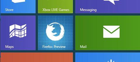 Firefox Metro Icon